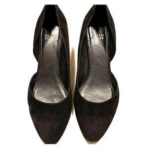 Eileen Fisher Suede Heels